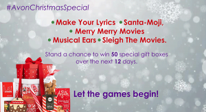 #AvonChristmasSpecial – 50 Special Boxes Up For Grabs Over 12 Days!