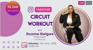 Avon HMO Launches Weekend Fitness Sessions on Instagram